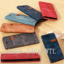 2015 high quality wallet phone bags for iphone6