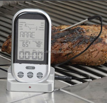 High quality Digital Cooking Thermometer / BBQ thermometer with timer / Wireless digital cooking thermometer