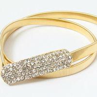 Gold Rhinestone belt for dress