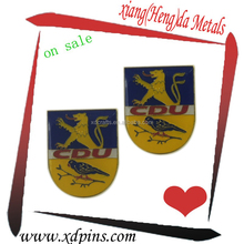 metal lion logo badges
