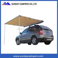 Hard floor camper trailer awning 4x4 accessory for Toyota 167 Series Hilux