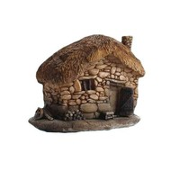 unique dog resin decorative pet house handmade outdoor kennel