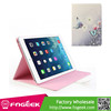 Fast Shipping Smart Awakening Beautiful Flower & Butterfly Rhinestone Leather Case Stand for iPad Air 5