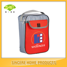 promotional customizable lunch cooler bag with durable hard liner