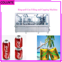 Colunte China Factory Price Ring Pull Can Filling Beer, Soda Canning Equipment, Filling Machine with CE