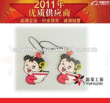 Promotional Gift Cheap Rubber/Soft Pvc Mobile Charming/Pendant/Strap