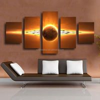 5 Piece Hot Sell Sunrise Modern Home Wall Decor Canvas picture Art HD Print Painting Set of 5 Each Canvas arts Unframed