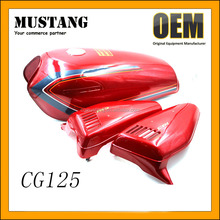 Top Quality Gas Tank Custom Motorcycle Fuel Tank Red Design for CG 125