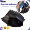 BJ-WS-GT250 Scooter Front Windshield Motorcycle Windscreen for Hyosung GT 250R 06-10