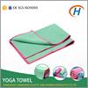 2015 hot yoga towel, fabrics yoga towel, embroidered microfiber yoga towel
