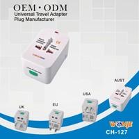 eu plug charger/us/eu/uk plug usb charger , universal plug, ,uae plug adapter