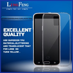 Ultra thin tpu clear mobile phone case for samsung galaxy s5 0.3mm ultra thin tpu cell phone case