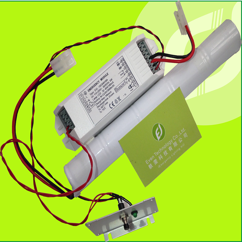 Led Battery Light Kit With Inverter For Emergency Fluorescent Lighting Wiring Diagram 6v