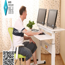 hu electric double leg sit and stand desk for wholesales