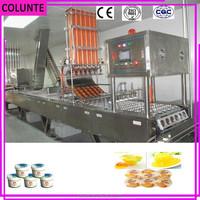 zheng zhou colunte carton cupping plasticine ice cream pack machine
