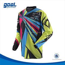 Fashion design digital printing motorcycles /motocross jerseys