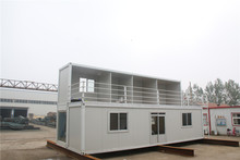 Complete functions demountable container house accommodation