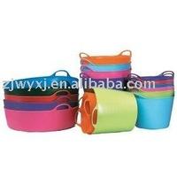 Flexible PE buckets,plastic water barrel,bathtub for kids,REACH,FlexBag