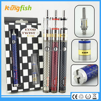 2015 new product airflow control evod twist 3 m16 are electronic cigarette safe for china wholesale