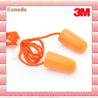 3M 1110 ear plug , sleeping ear plug , polyurethane ear plug