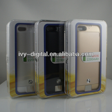 For Iphone 5/5C/5S external battery case,2200mAh mobile phone battery power bank case