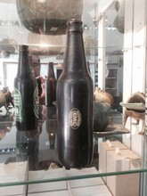 small beer bottle solid brass can put your logo on it