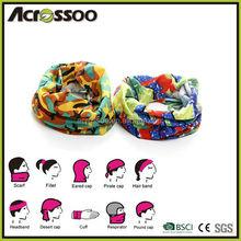 Custom brand seamless headwear, printed tube bandana