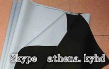black and white polyethylene PE film for milk, vingar, soymilk packing