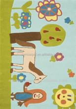 chinese handtufted acrylic colorful cartoon carpet rugs, kids mats,children mats.