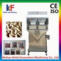 Feijão/amendoim/arroz de grão de pesagem máquina de embalagem