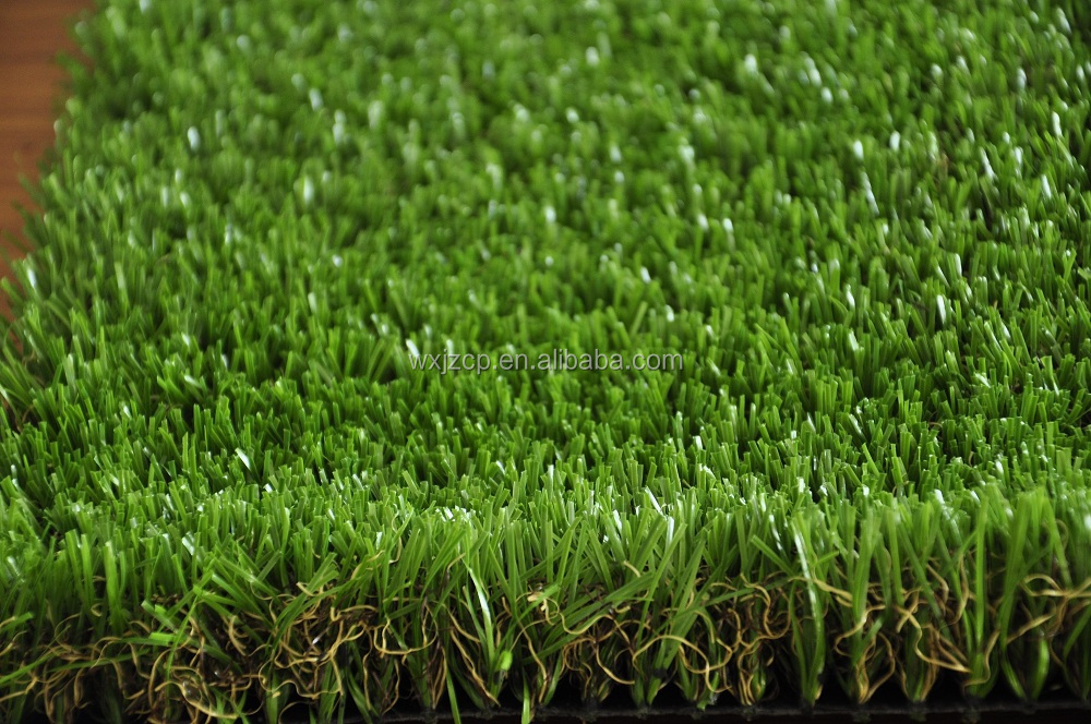 Artificial landscaping grass natural looking types of for Grass looking shrubs