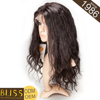 Can Be Bleached And Dyed Human Brazilian Virgin Hair U Part Wig Full Lace