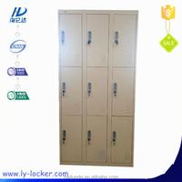 Cheap beautiful Steel Bedroom Furniture Metal Wardrobe With 9 Doors