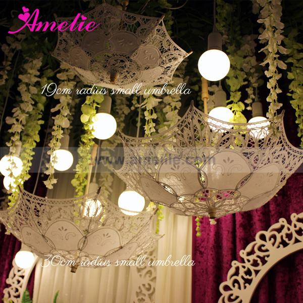 Party baby shower decorative lace umbrella parasols hanging party wedding decorative lace umbrella 1g junglespirit Choice Image