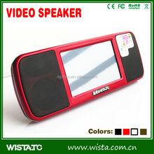 WISTATC A800 best sale electronic mini speaker/Video Speaker