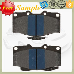 Accessories for car toyota free brake pad D436