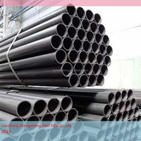 2015 hot sale Astm A106 Gr B GB 8163 black seamless steel pipe fluid pipe