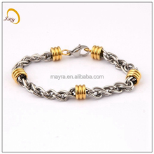 Dongguan Fashion Jewelry Manufacturer Supply High polished Stainless Steel Anchor Bracelet