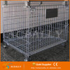 Stainless Galvanized Foldable Wire Mesh Container for Storage