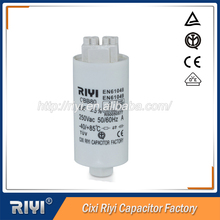 Steady electricity performance 4uf metallized polyester film capacitor