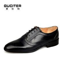 Pure manual Wedding shoes mens shoes custom handmade shoe