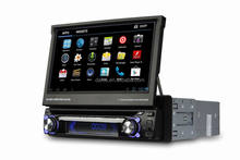 Universal single din car dvd with GPS 3G WIFI RDS BT IPOD