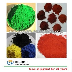 Factory ISO Certified sell ci77491 red iron oxide and yellow 313 pigments for concrete color/paint pigments/coating