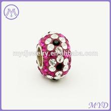 pavimentada a mano multicolor de flores de diamantes deimitación cuentas