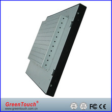 12.1 inch Open Frame industrial LCD Monitor VGA/DVI interface, touch monitor for digital signage and kiosk