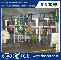 High oil put cottonseeds oil refinery / edible oil refinery plant/ peanut oil refinery machine