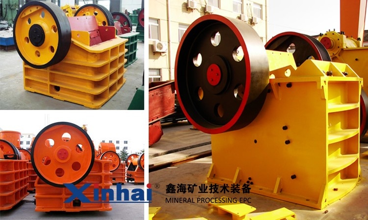 jaw crusher achieve an effective unified