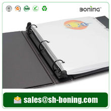 Ex-work price high end customized ring binder with recyclable material