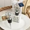 Ship's Wheel Wine Bottle Stopper nautical-themed Wedding Gift