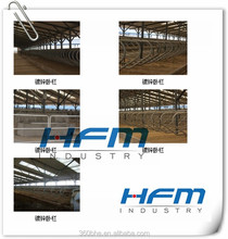 Cattle free stall, cheap cattle panels for sale